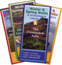 4 leaflets of walks to visit sites in the Duddon Valley