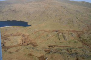 Click on the photo to find out about building the Seathwaite Tarn Dam