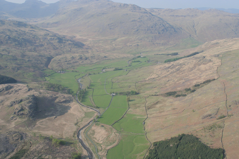 Aerial image - Castle Crag to Little Stand
