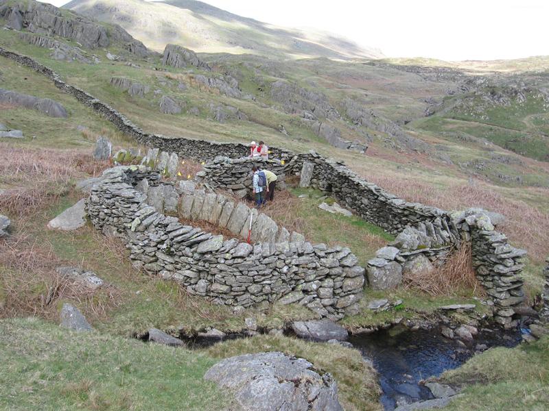 Shard wall sheepfold