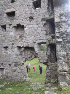 Arnside Tower from inside