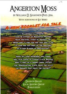 Flyer for Angerton Moss Book